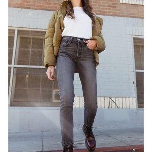 Levi's Skinny 501 coal Black Jeans